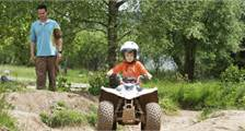 Mini-Quad-Fahren in