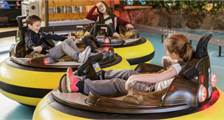 Bumper Cars in Center Parcs Bispinger Heide