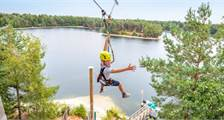 Super Zip Wire in Center Parcs De Vossemeren